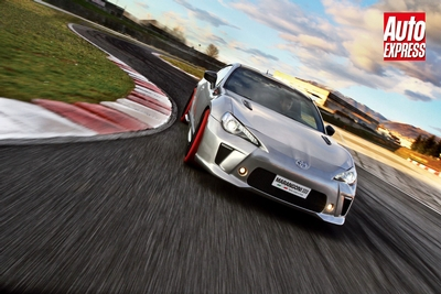 Auto Express tests Toyota GT86-R