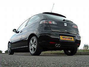 Seat Ibiza Cupra TDi 160 and 1.9TDi 130 complete sports exhaust now available