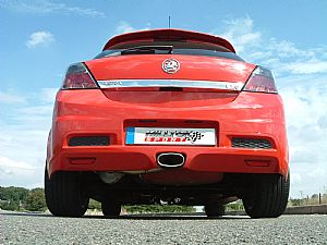 Performance Exhaust System for the Vauxhall Astra VXR
