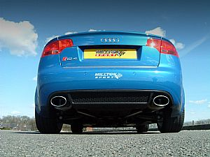 Final testing for the NEW Audi RS4 performance exhaust
